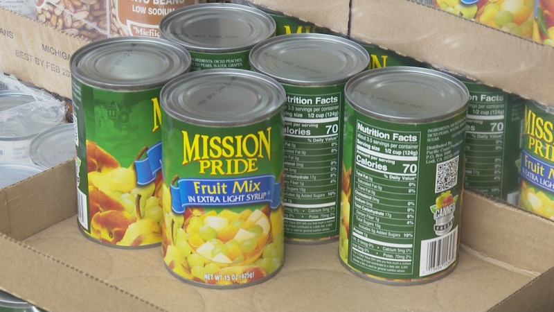 Donations can be made online through Wednesday or at Brookshire Brothers and Douglass...