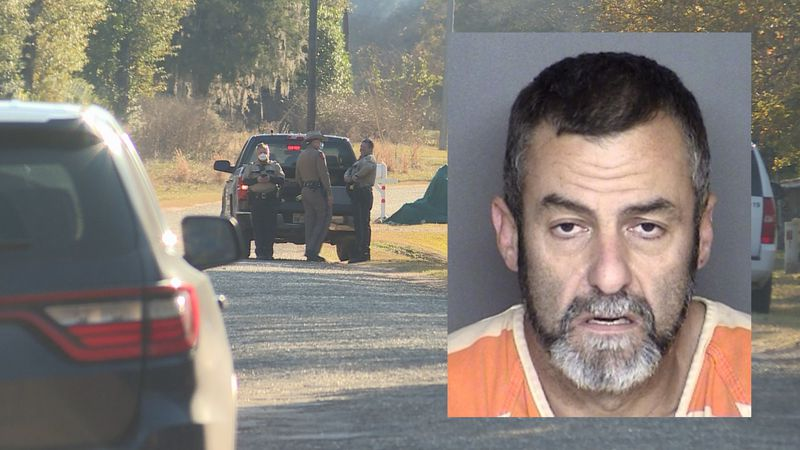 James Edward Byrne was arrested by Grimes County deputies after a multi-county chase.