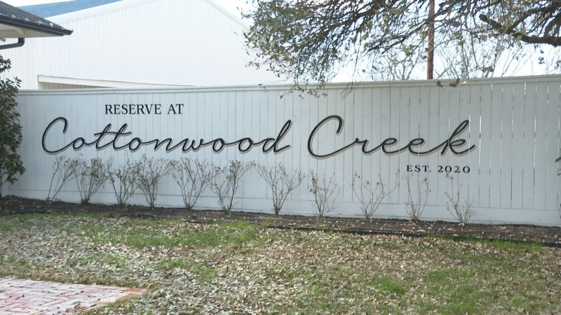 Reserve at Cottonwood Creek will host its first wedding at the end of May.