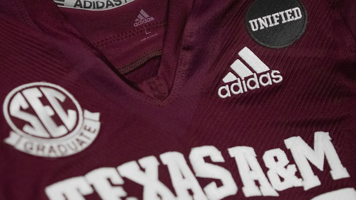 Unified Uniform Patch Debuted By Aggie Football Team