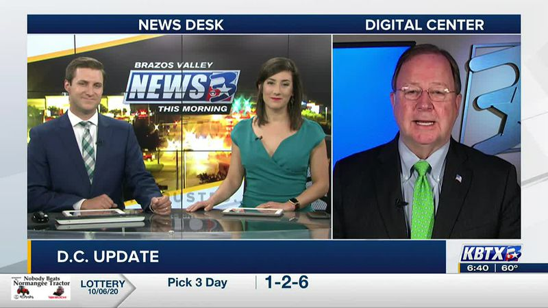 Congressman Bill Flores talks with the BVTM crew about how the president is handling his COVID...