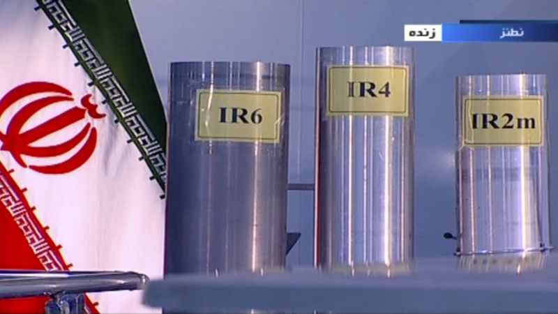 FILE - In this June 6, 2018, file frame from Islamic Republic Iran Broadcasting, IRIB,...