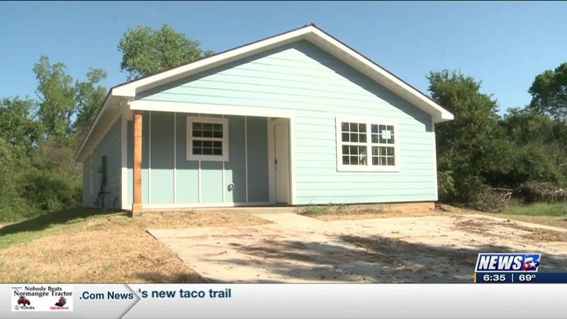 The Ocampo family has a new home thanks to Habitat for Humanity