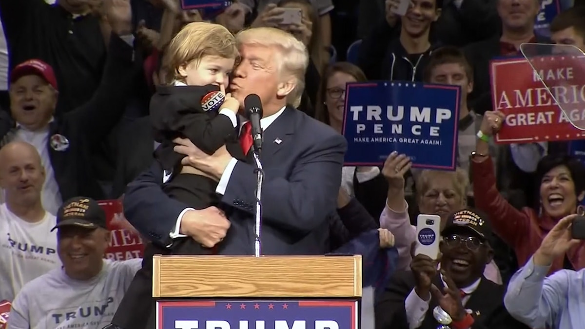 Will politicians be willing to kiss babies at rallies following a pandemic? Will parents be willing to hand them over? (Source: Gray DC)
