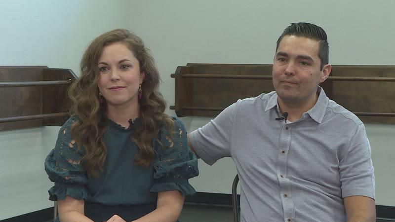 Bethany and Patrick Sleebos