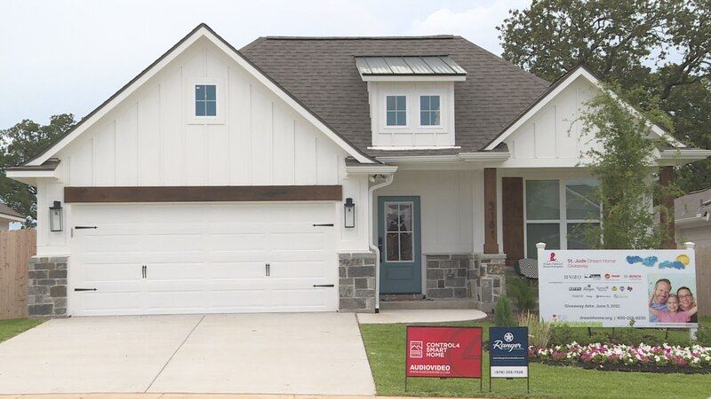 Iola resident, Linda Stewart is the winner of the St. Jude Dream Home in Bryan.