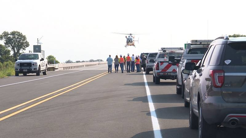Washington County's EMS helicopter has been upgraded to have fire suppression.