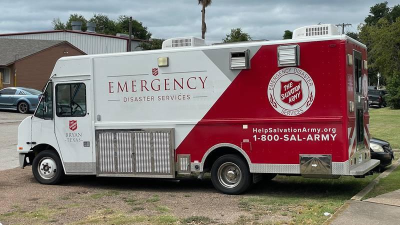 Salvation Army Mobile Feeding Unit