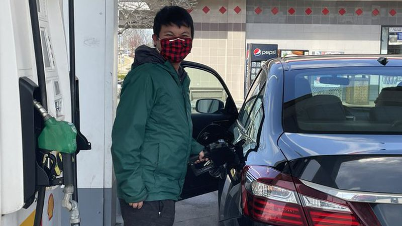 Gas prices are steadily rising across the state, but it doesn't seem to be stopping people from...
