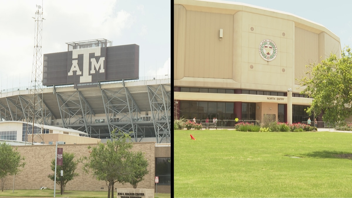 Kyle Field and Reed Arena