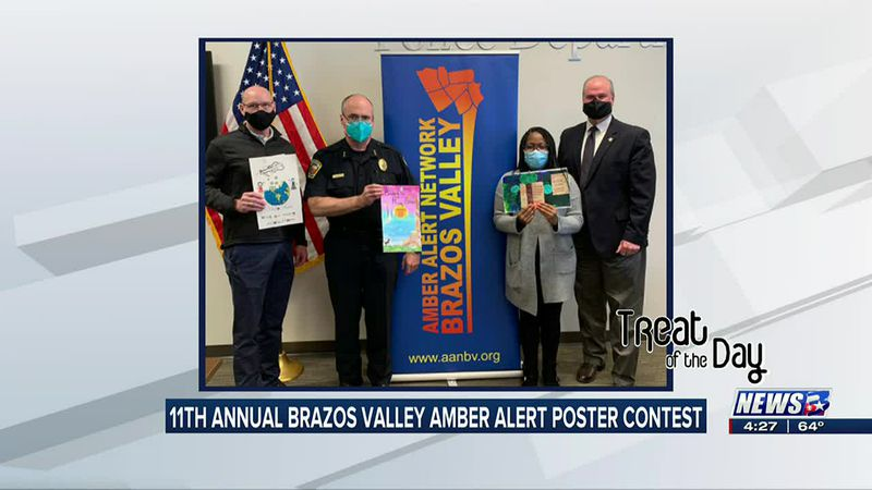 Treat of the Day: Amber Alert Network Brazos Valley poster contest