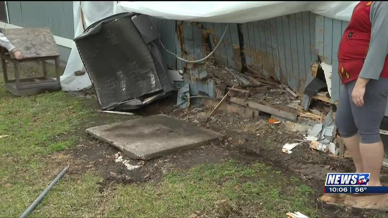 Bryan family faced with harsh reality after car drives into home now seeking community help