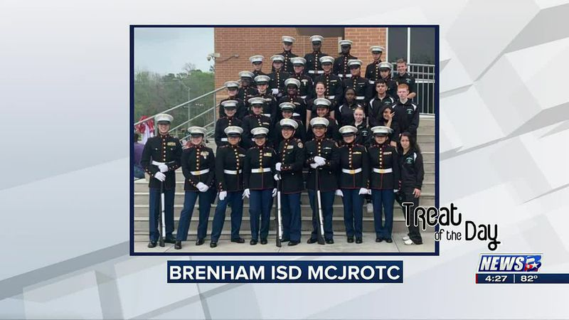 Treat of the Day: Brenham ISD MCJROTC wins regional competition