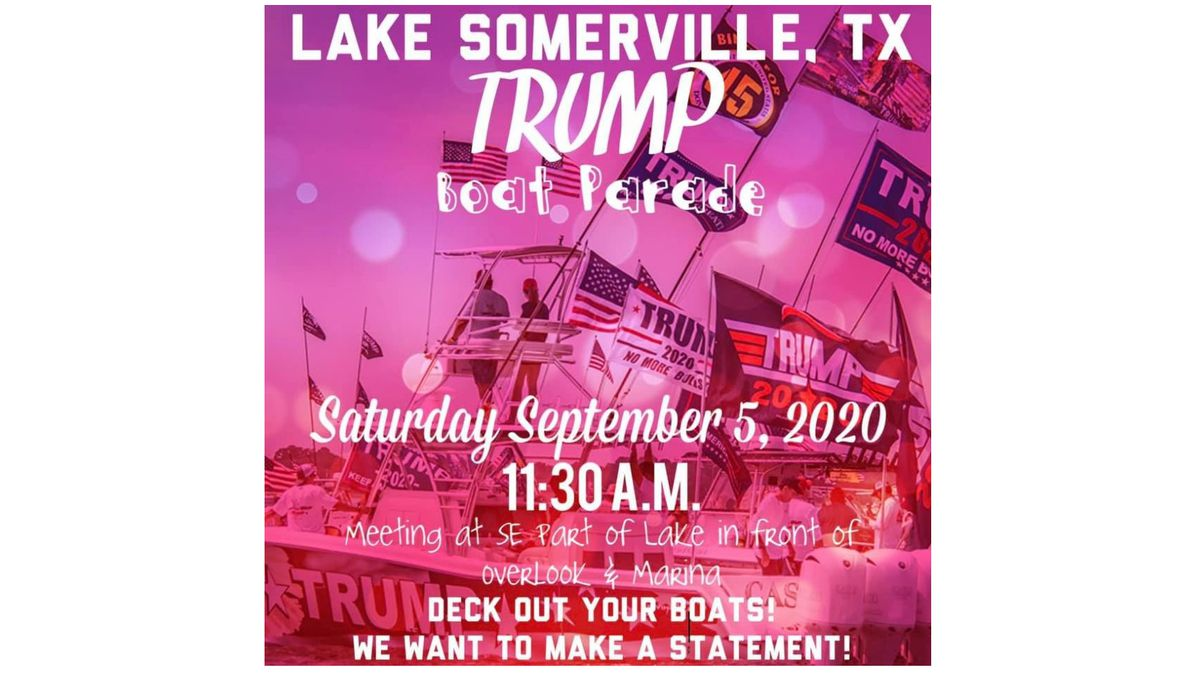 Big boat parade to show support for Trump is planned for Saturday