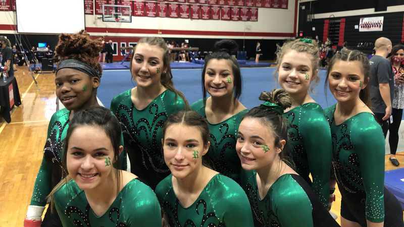At the THSGCA State Gymnastics Meet the Rudder Lady Rangers wrapped up the second day of...