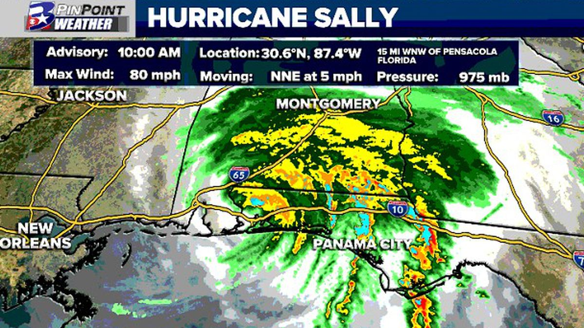 10am update from the National Hurricane Center on Hurricane Sally.
