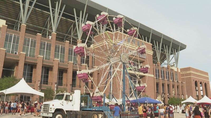 Ferris Wheel at the 12th Jam Music Festival