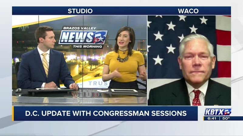 Rep. Sessions discusses upcoming impeachment and COVID relief on BVTM