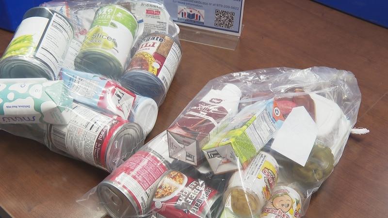 Brazos Valley Food Bank BackPack Program.