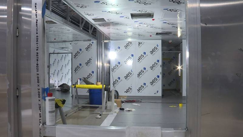 G-CON builds clean rooms for the biopharmaceutical manufacturing market.