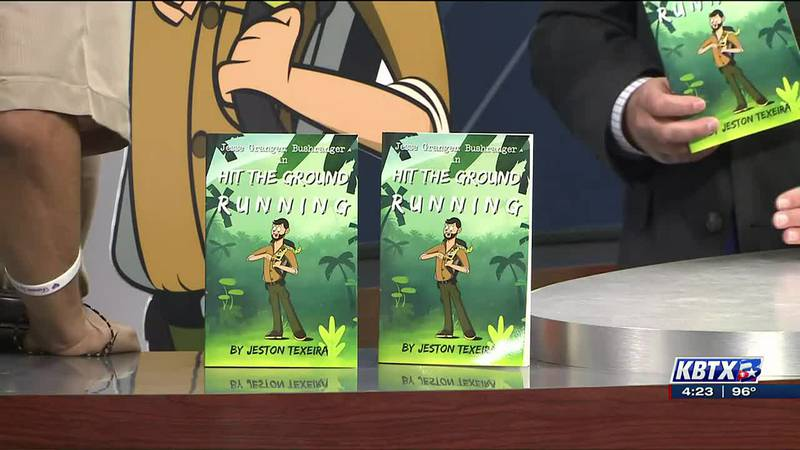 Hit the Ground Running book signing