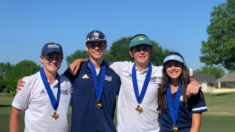 The Allen Academy Boys and Girls Golf teams finished 2nd and 4th at the TAPPS 2A State...