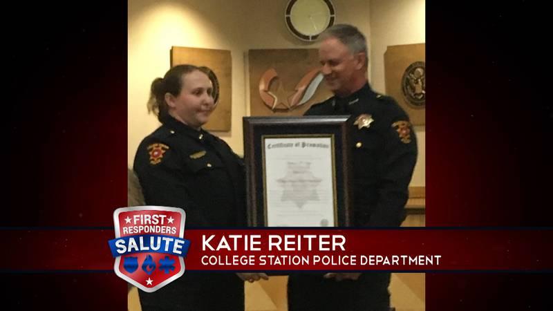 First Responder Salute Katie Reiter