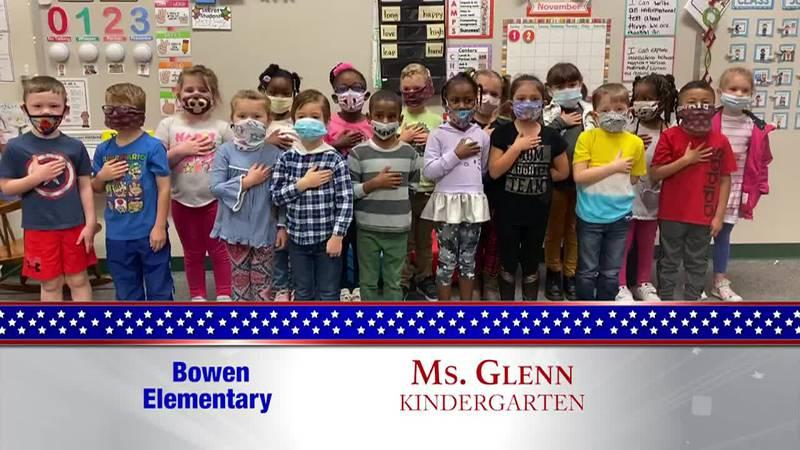 Daily Pledge – Bowen Elementary – Miss Glenn's