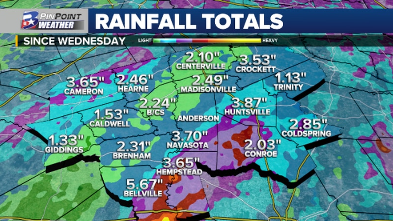 The last few days of 2020 were pretty soggy as a storm system brought widespread showers and...