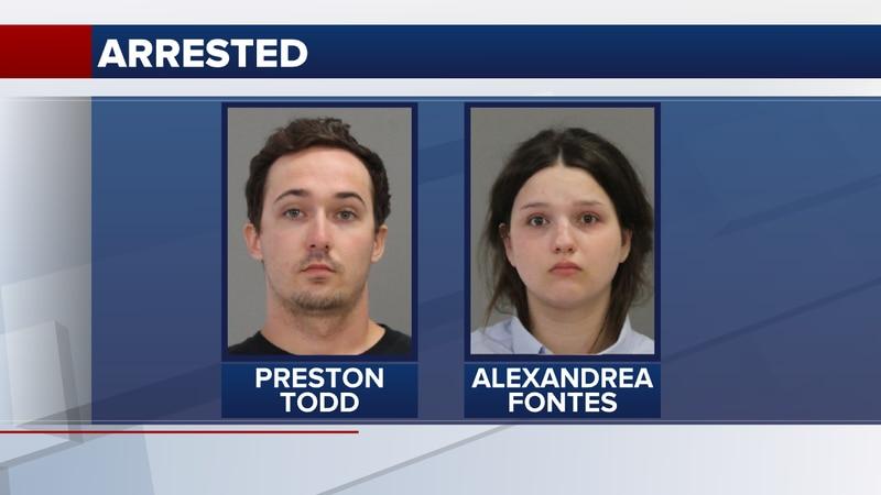 Preston Todd, 23, and Alexandrea Fontes, 24