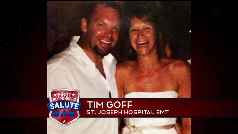 This week's First Responder Salute goes to Tim Goff.