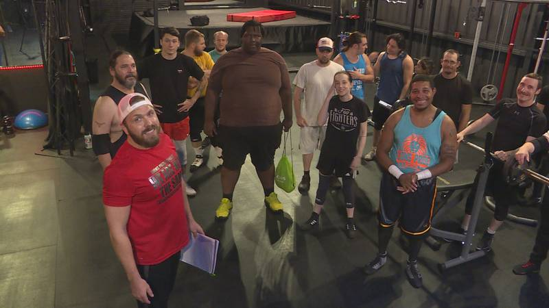 Training the future of pro wrestling at Lions Pride Sports