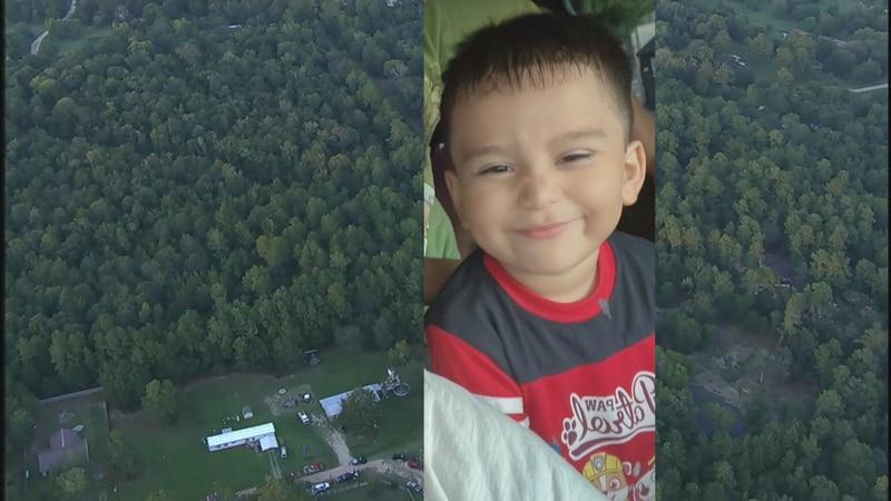 The missing 3-year-old boy was last seen in the Foxfire neighborhood in Plantersville.