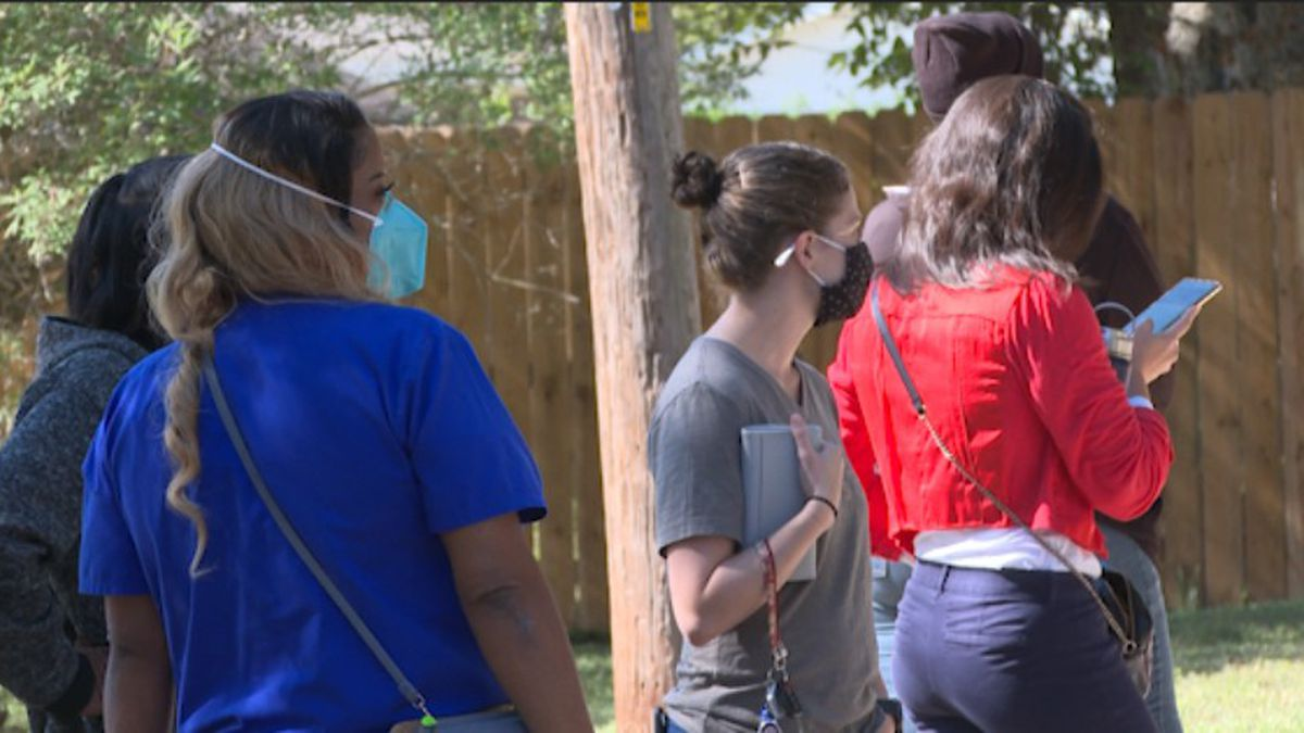Voters made their way to the polls Tuesday even during the COVID-10 pandemic.