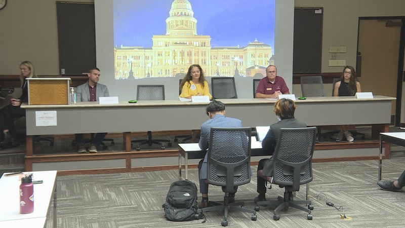The Texas A&M student body hosted a candidate forum on campus Wednesday for those running for...