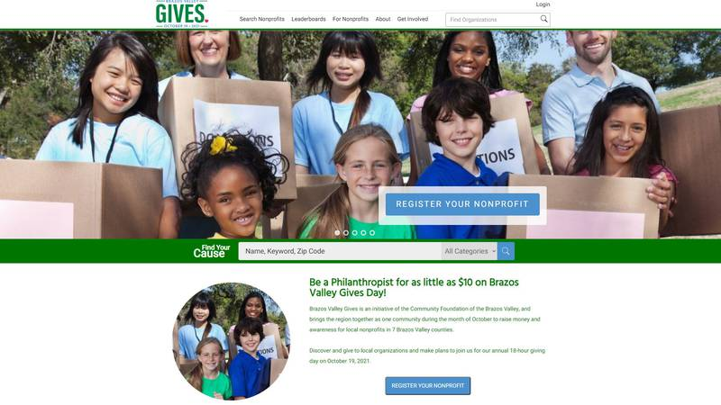 The deadline for nonprofits to register is Friday, Sept. 10.