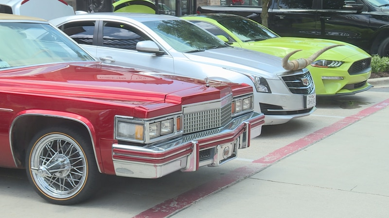 Sunday's slab car show at Century Square was put together to hype up a Northgate concert...