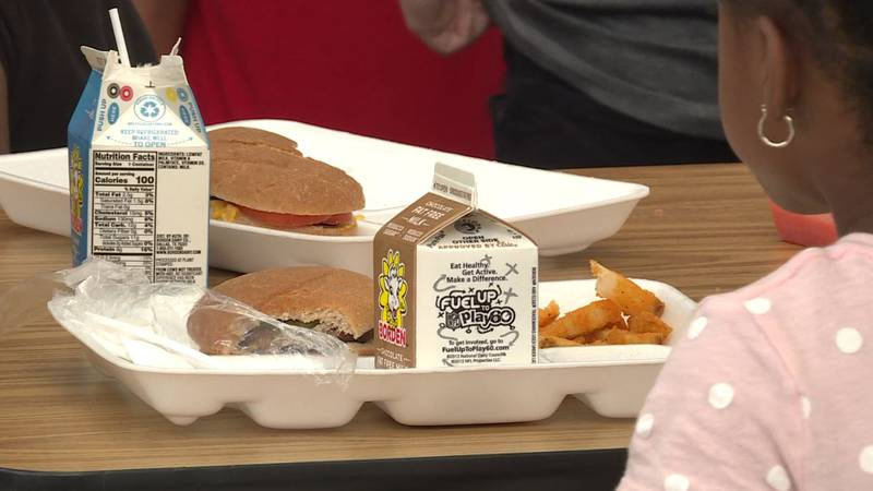Thousands of meals are being served this summer.