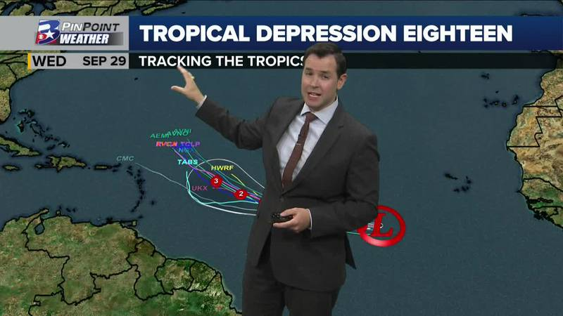 Wednesday Evening Tropical Weather Update 9/22