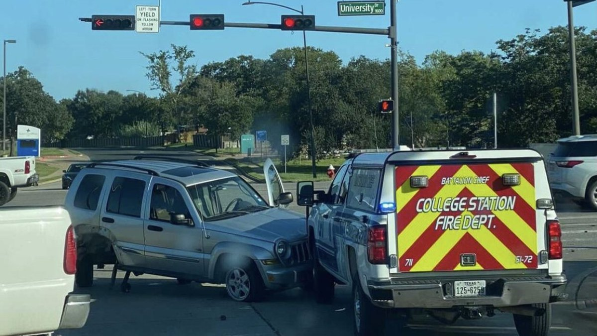 The driver that caused the crash was issued two citations by College Station police.