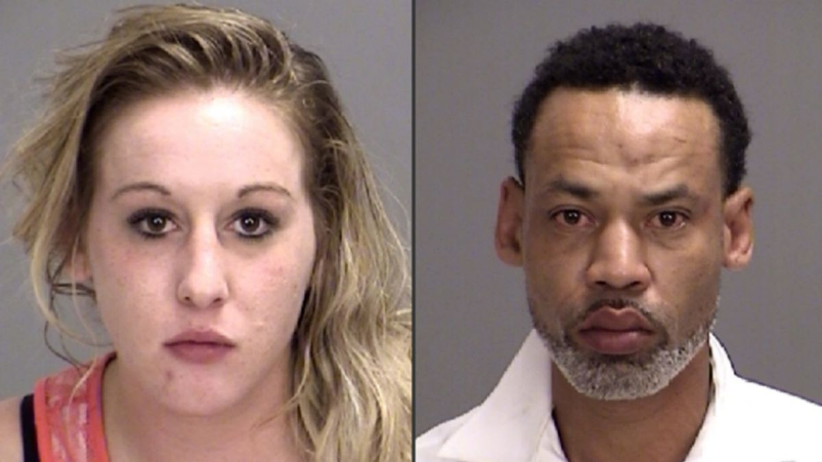 Cara Debacco and Anthony Green (Brazos County Sheriff's Office)