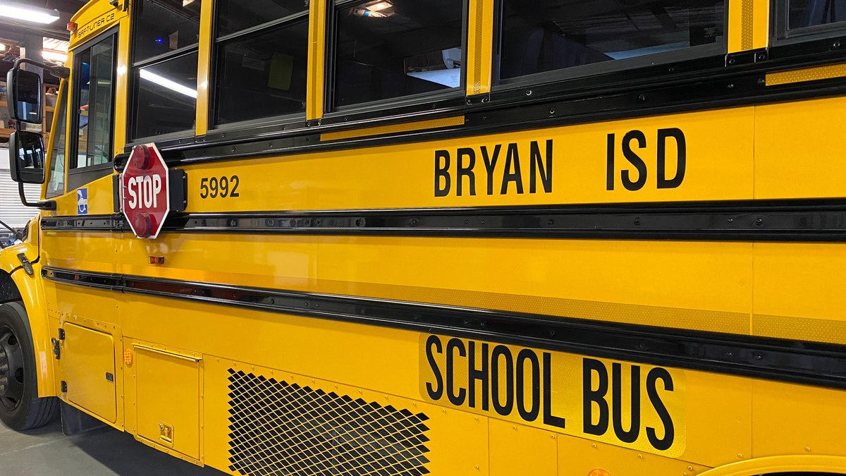 Bryan ISD school bus