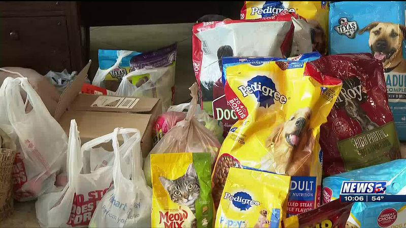Coldwell Banker Apex Realtors collect donations for Aggieland Humane