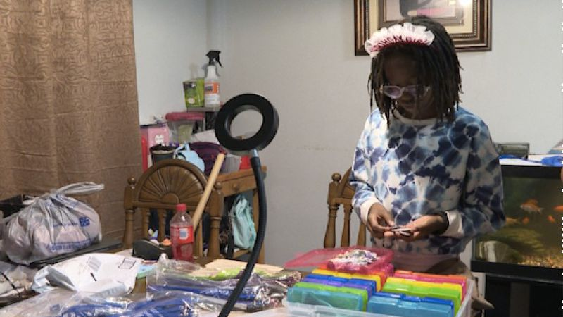 Local girl launches her own business on her 11th birthday.