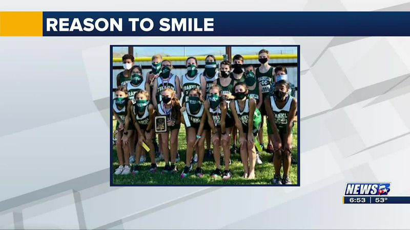 This week's Reason to Smile was sent to us by Helen Wagner.  She said Franklin Middle School...