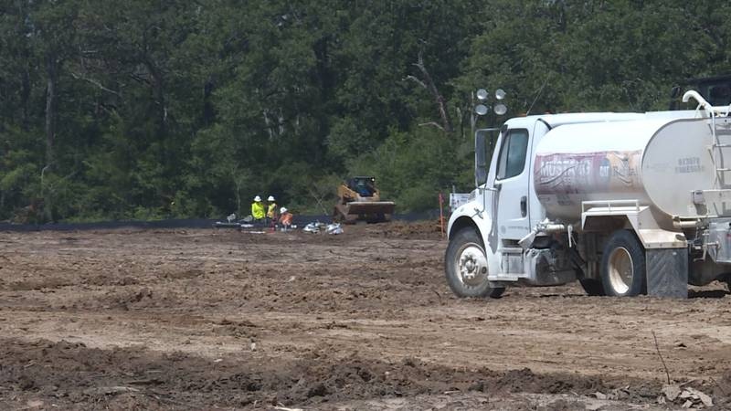 A new FedEx Ground facility is being built in Bryan.
