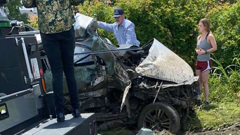 DPS troopers say failure to yield at a busy intersection caused a crash Saturday in Grimes...