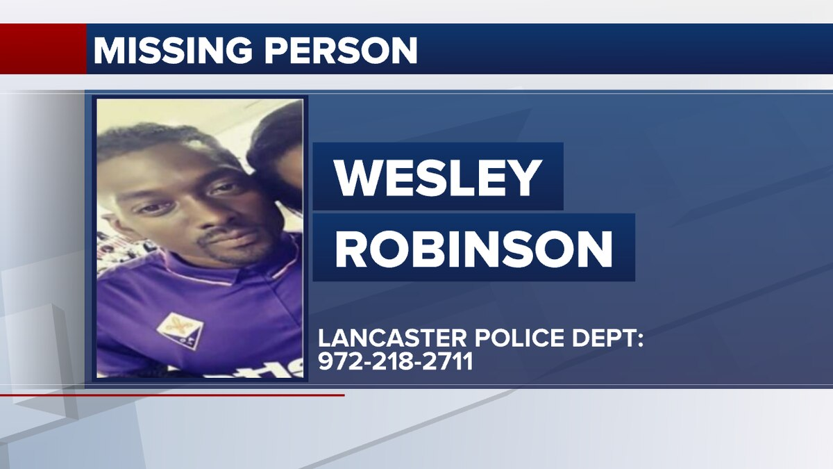 Wesley Robinson, 36, was last seen and heard from on Sunday, May 30th, according to his mother...