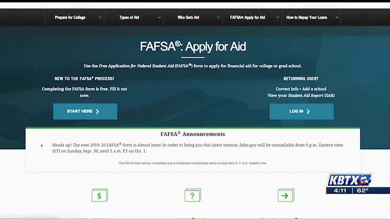 Important FAFSA dates rapidly approaching