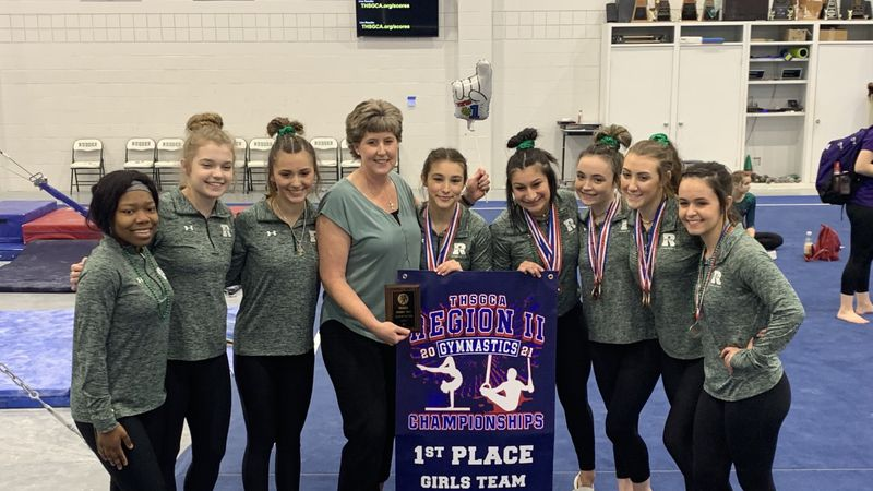 The Rudder Lady Rangers Gymnastics team claimed the Region II Gymnastics Championship Wednesday...